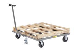 Pallet Cart w/Floor Lock