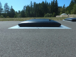 Potable Tank with Ground Mat