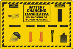 Battery Changing Station Store Board
