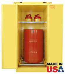 Securall Vertical Drum Storage Safety Cabinet