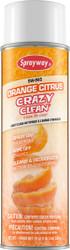 Orange Crazy Clean Aerosol Spray