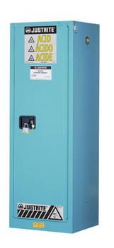22 Gallon Slimline Lab Acid Cabinet