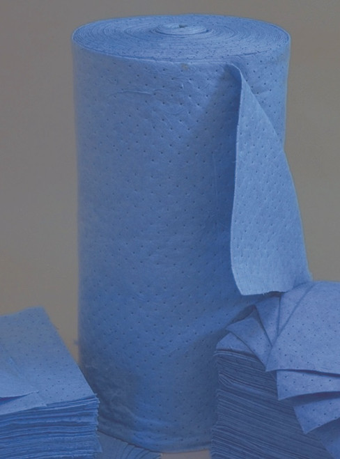 Blue Absorbent Roll