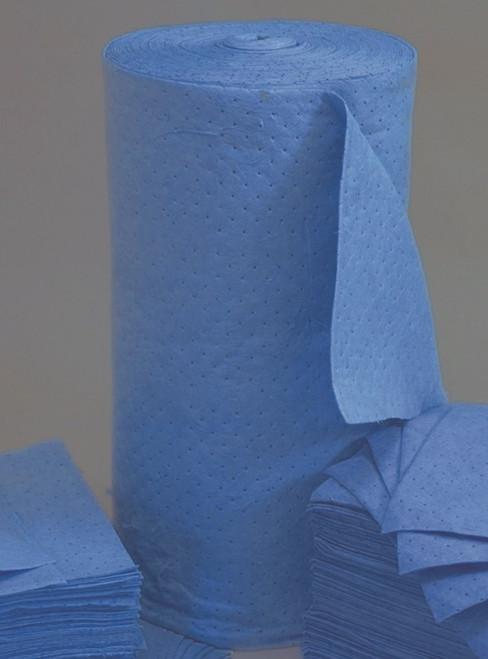 Blue Absorbent Roll