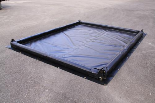 """Foam Wall Spill Containment Berm - 8' x 8' x 2"""""""