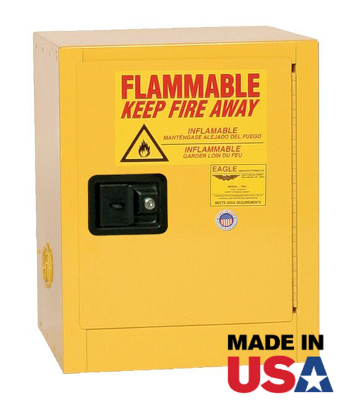 Small Flammable Cabinet by Eagle Manufacturing