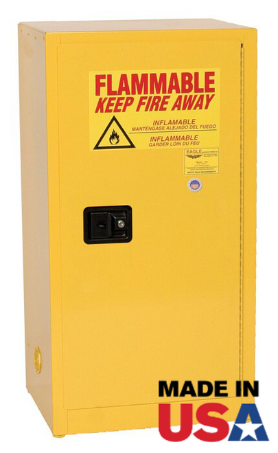 Eagle 16 Gallon Flammable Safety Cabinet