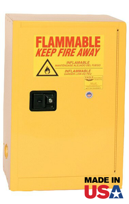 Flammable Storage Cabinet @ IPI from Eagle Manufacturing