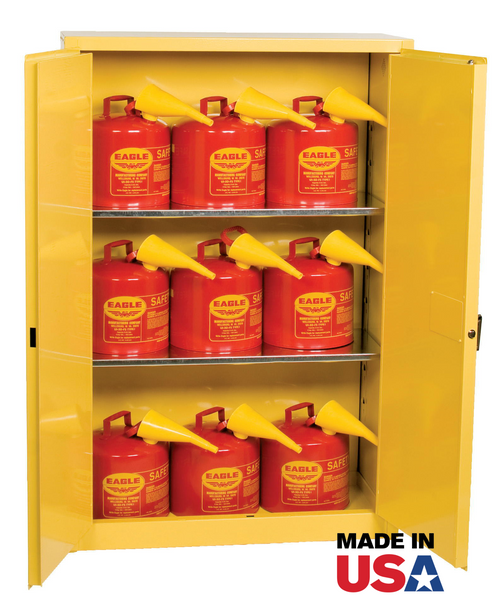 45 Gallon Safety Cabinet with Cans