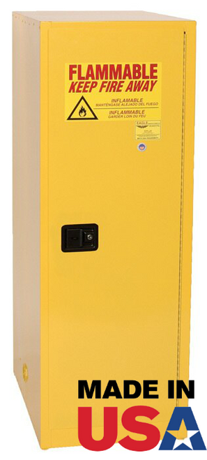 Eagle Self Closing Safety Cabinet