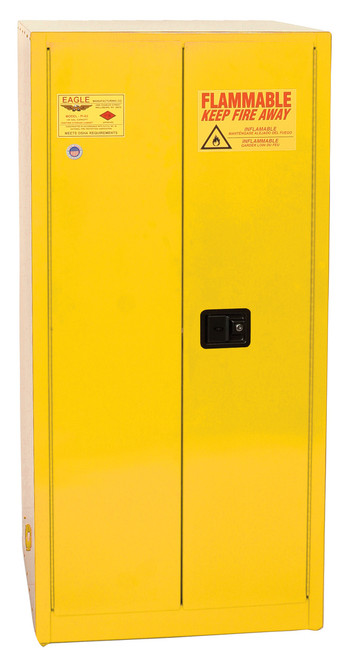Eagle Paint Safety Cabinet - 96 Gallons