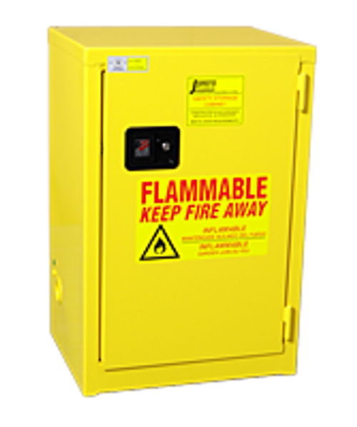 Jamco Flammable Slimline Cabinet - 12 Gallons - Manual Close