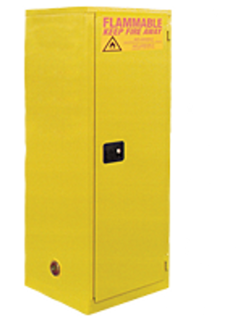 Jamco Slimline Safety Cabinet - 60 Gallons - Manual Close