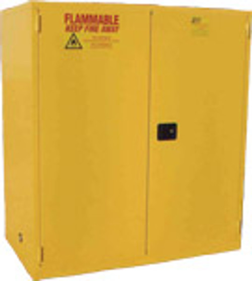 Jamco BS90YP - 90 Gallon Flammable Safety Cabinet - Self Close