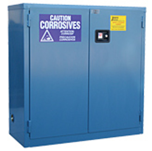 Acid Storage Safety Cabinet - 30 Gallon - Self-Closing