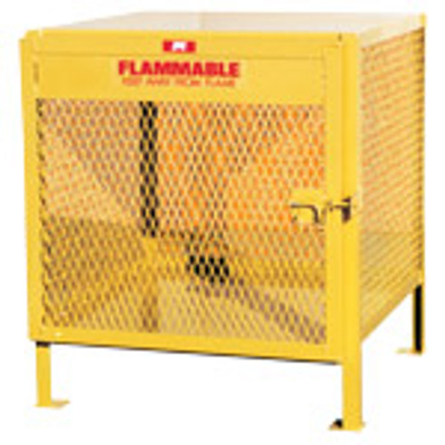 Jamco Vertical Propane Tank Cabinet - Max Cylinders - 2