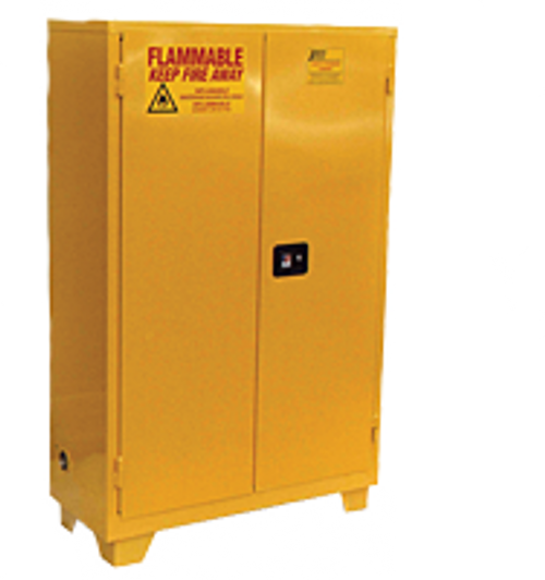 Jamco 60 Gallon Flammable Cabinet - Forkliftable - Self Close