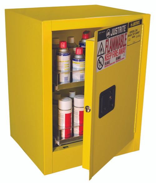 Aerosol Can Storage Cabinet