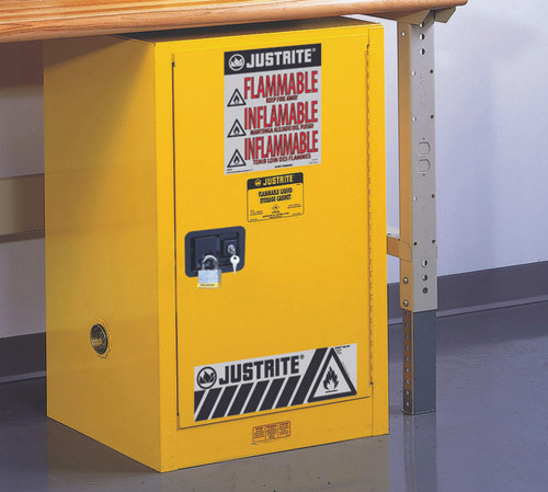 Justrite Flammable Cabinet