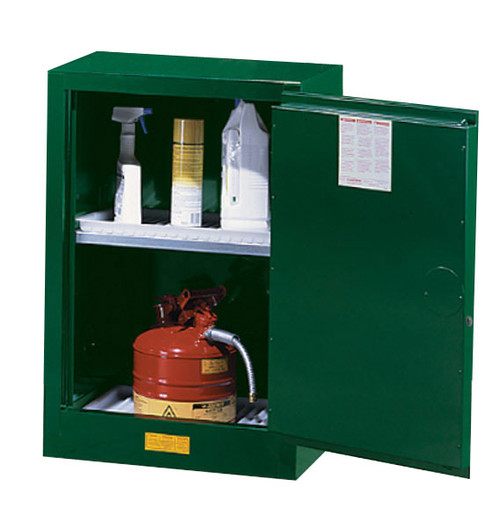 Justrite 12 Gallon Pesticide Storage Cabinet