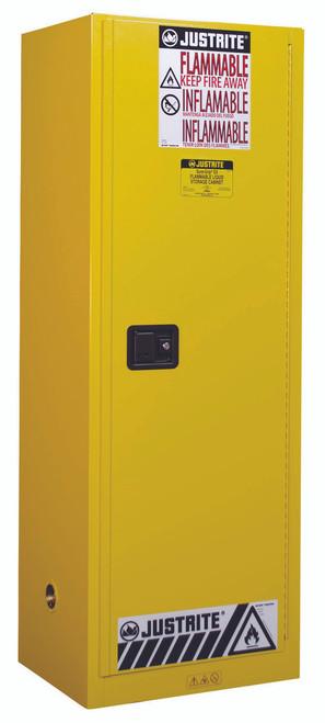 Justrite 22 Gallon Slimline Storage Cabinet