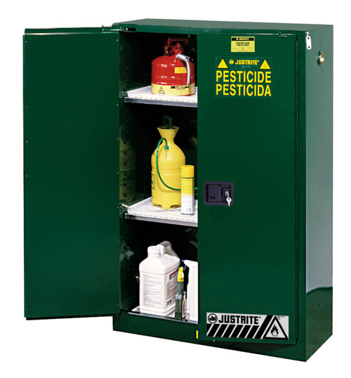 Justrite 45 Gallon Pesticide Safety Cabinet