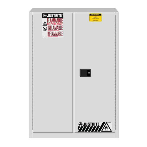 White Flammable Waste Safety Storage Cabinet