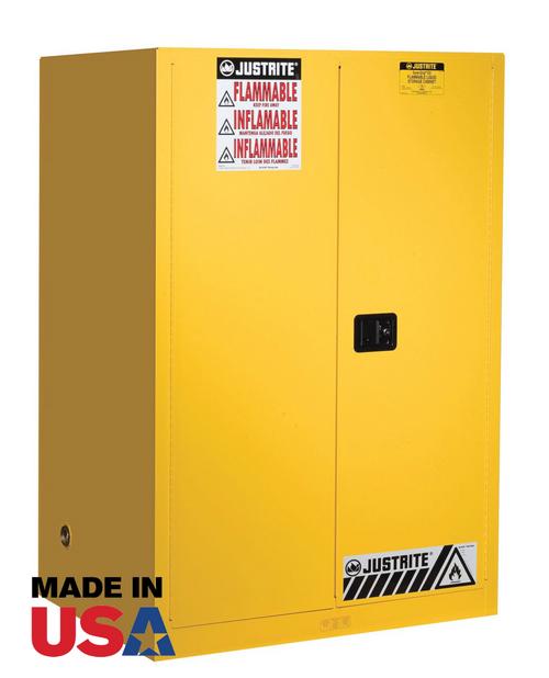 Justrite 90 Gallon Self Closing Flammable Cabinet