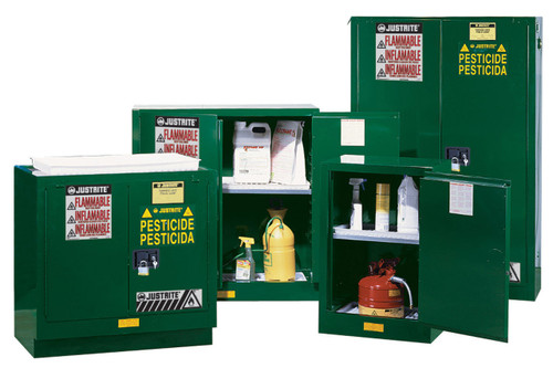 Justrite 90 Gallon Pesticide Cabinet