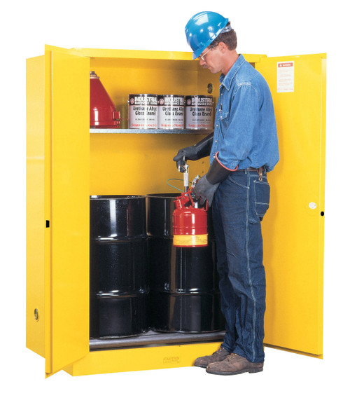 Flammable Drum Cabinet