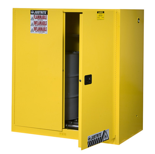 Justrite Flammable Drum Storage Cabinet