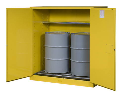 Justrite Flammable 55 Gallon Drum Cabinet