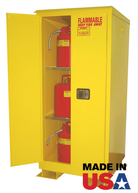 60 Gallon Weatherproof Outdoor Storage Cabinet