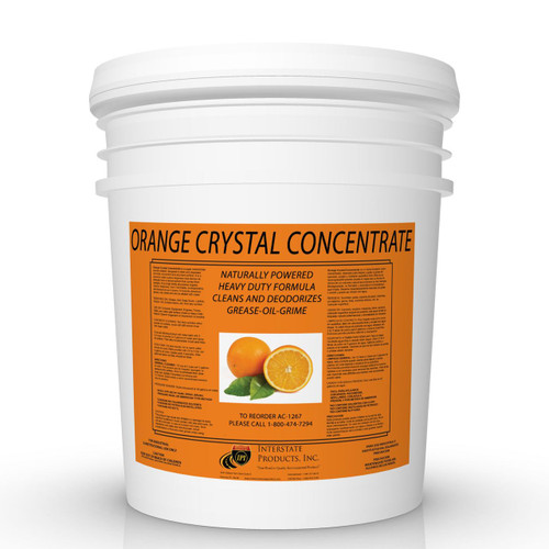 Orange Crystal Concentrate Powdered Degreaser