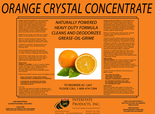 Orange Crystal Concentrate