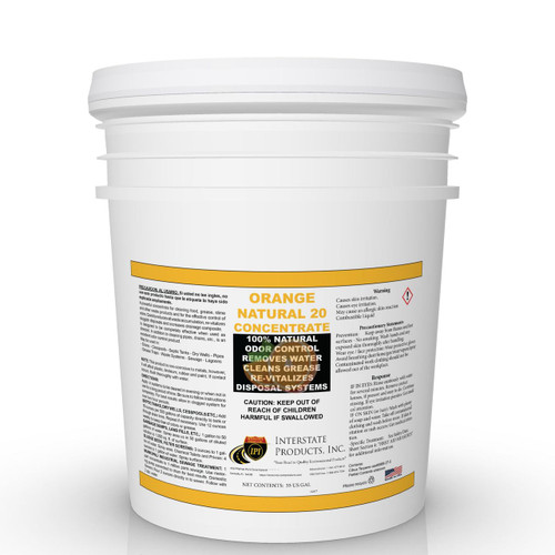 Orange Natural 20 Concentrate - 5 Gallons
