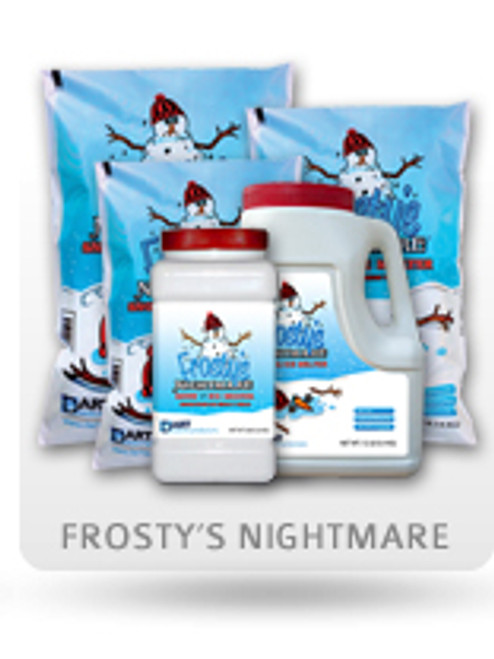Pallet Frosty's Nightmare Snow & Ice Melter - 63 x 40 lb Bags