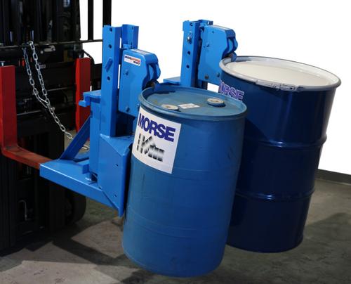 Morse Two Drum Forklift Attachment