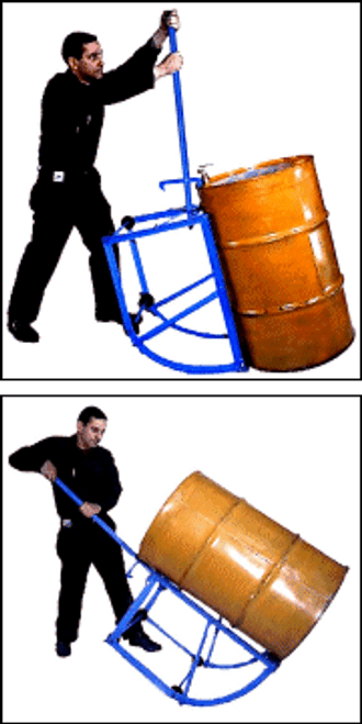Morse 55 Gallon Drum Cradle Truck