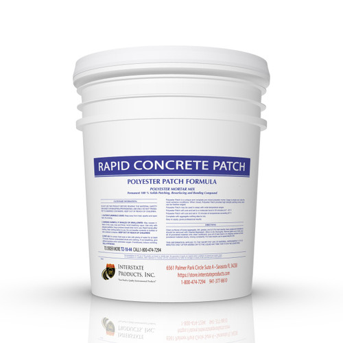 Rapid Concrete Patch 5  Gallon Pail