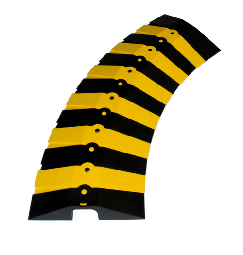 Ultra-Sidewinder Large Size 3 Foot System - Black & Yellow