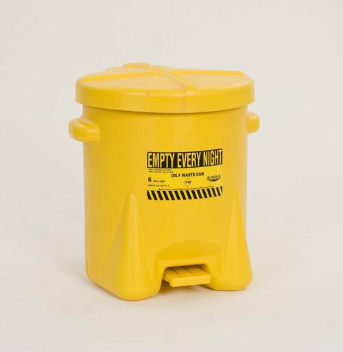 6 Gallon Oily Waste Can