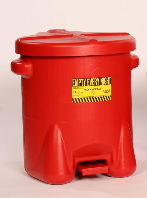 14 Gallon Oily Waste Can