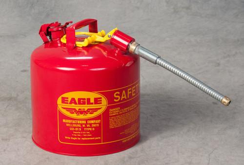 Eagle 5 Gallon Metal Gas Can