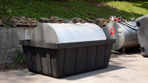 Eagle Tank Containment Sump - 550 Gallon with Drain