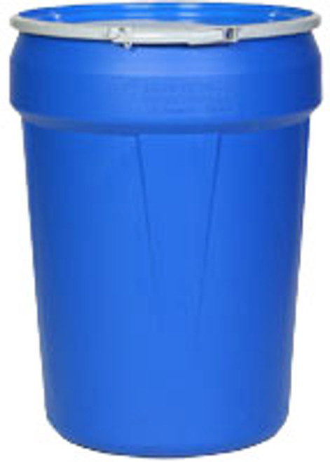 EAGLE 1601MB 30 Gallon Blue Lab Pack w/Metal Lever-Lock Ring