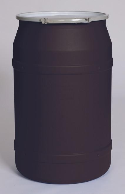 Eagle 55 Gal Lab Pack - Metal Lever Lock Ring - Black