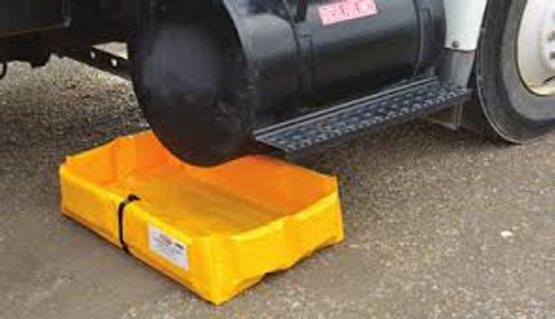"Eagle Yellow Folding SpillNEST 4' x 6' x 6"" - T8006FS"