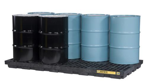 Justrite 8 Drum Spill Control Center