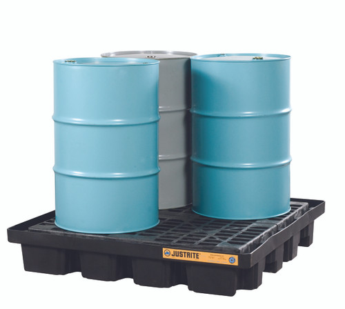 4 Drum Spill Containment Pallet